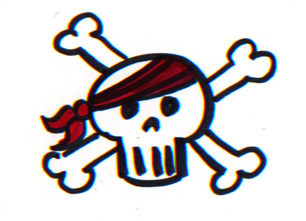 jeannelkingcom  How to draw a Good Enough Jolly Roger