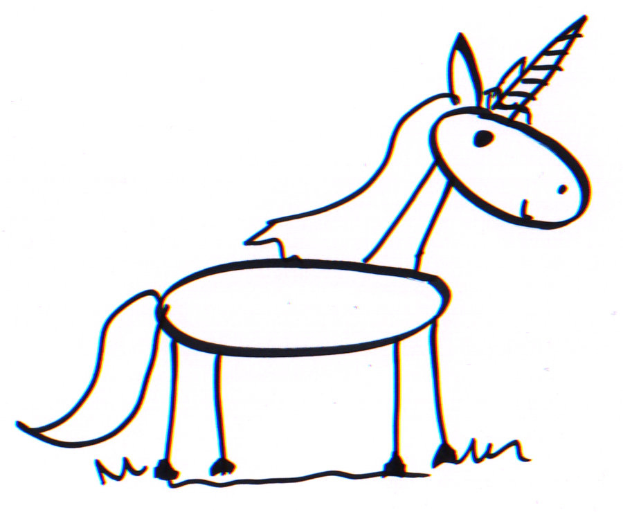 How To Draw A Good Enough Stick Unicorn   Tutorial Image By Jeannel King