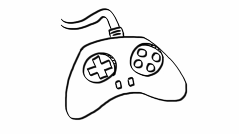 How to draw a Good Enough video game controller - Jeannel King